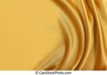 Gold silk satin. - Gold silk texture of satin abstract...