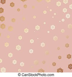 gold snowflake background 2910