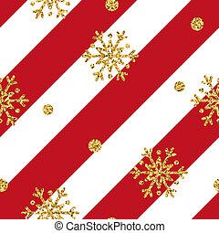 gold snowflake Christmas background