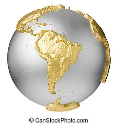 10 earth without water illustrations and stock art gold south america gold silver globe without water south publicscrutiny Choice Image