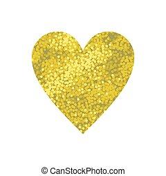 Gold sparkle glittering background