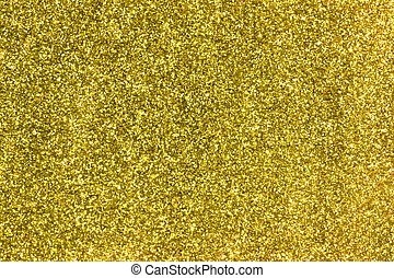 Gold Sparkling Glitter Background.