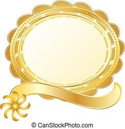 gold stamp