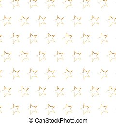 gold star background Seamless vector