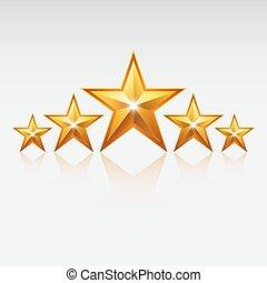 Gold star.