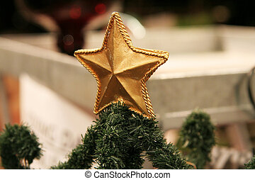 gold star for xmas t