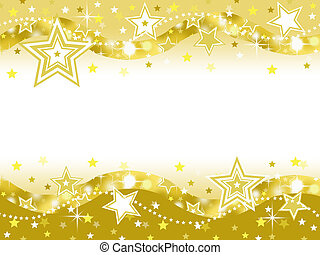 gold star party background