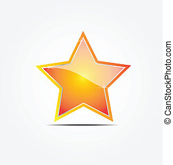 gold star vector illustrator