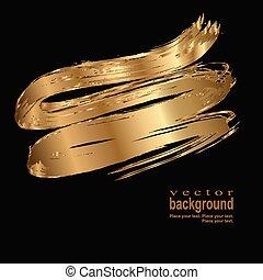 gold stroke
