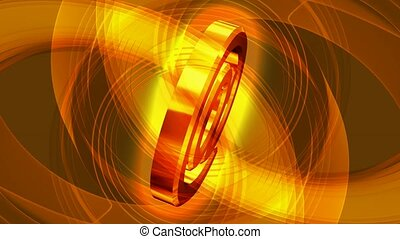 Gold @ symbol