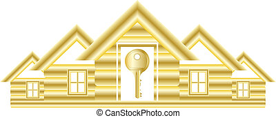 symbol with house and key