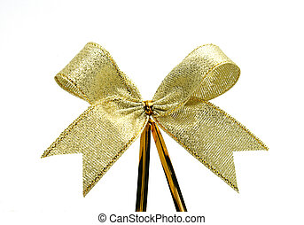 gold szalag, noha, íj, white