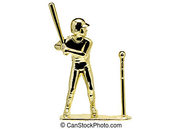 T-Ball Trophy - Gold T-Ball Trophy