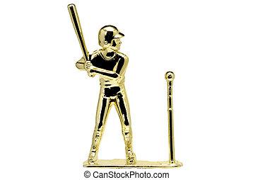 T-Ball Trophy - Gold T-Ball Trophy
