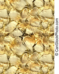 gold texture - a nice large image of gold in the stones