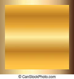 Gold texture square golden frame