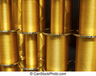 Gold thread reels