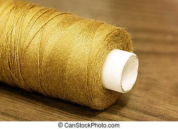 Gold Thread, sepia tone