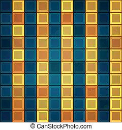 gold tiles seamless pattern