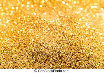 Gold treasures shiny background