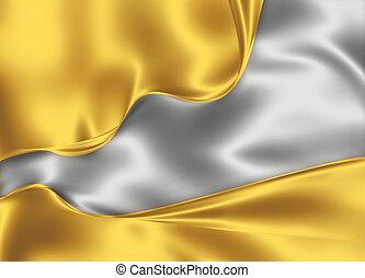 gold, und, silber