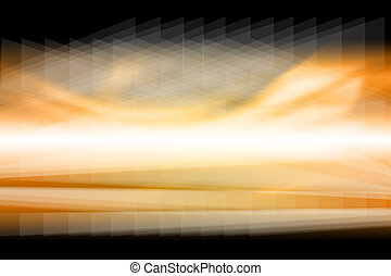 gold, verwischt, abstrakt, hintergrund