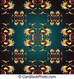 gold wallpaper pattern