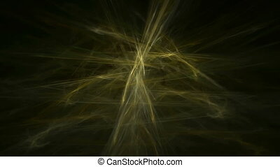 Gold yellow straw abstract loop motion background