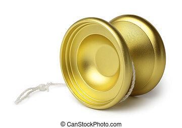 Gold yo-yo toy