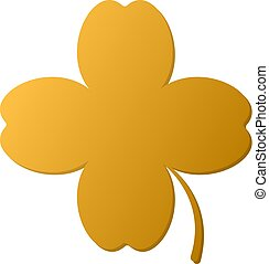 golden 4 leaf clover