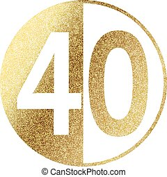 Number 40 Illustrations and Clipart. 2,254 Number 40 royalty free