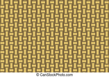 Golden abstract seamless pattern (vector)