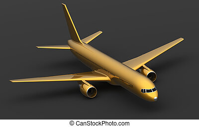 Golden air liner