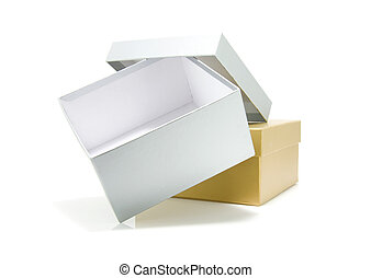 golden and silver box