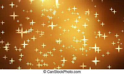 Golden - Animated golden background