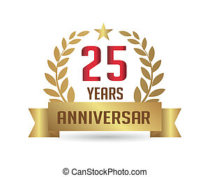 Golden Anniversary 25 years number