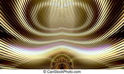 Golden Art Deco Background