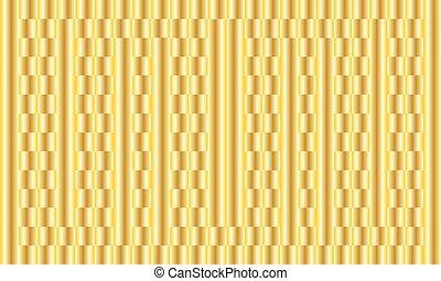 Golden background. Vector abstract