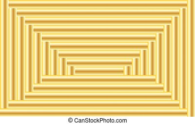 Golden background. Vector abstract