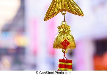 Golden bag