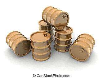 Golden Barrels