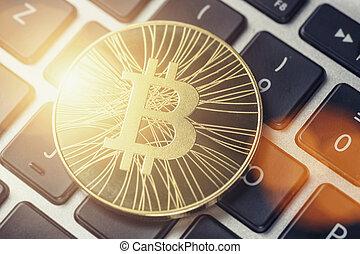 Golden Bitcoin Cash - New virtual money on keyboard