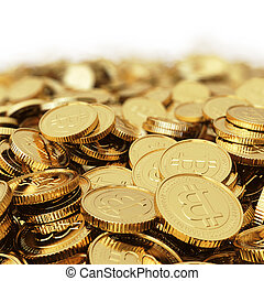 Golden Bitcoin digital currency bac - Golden Bitcoin ...