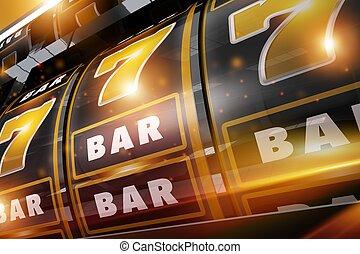 Gold Rush Casino Slots - Golden Black Gold Rush Casino Slots...