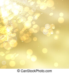 Golden Bokeh.