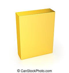 Golden Box - Blank