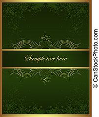 Golden brochure