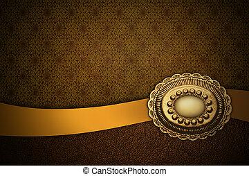 golden brown background