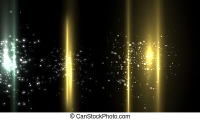 Golden bubbles and vertical lines