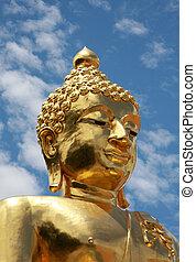 golden buddah thailand
